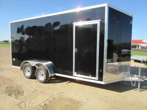 2020 EZ-Hauler 7' x 16' for sale at Nore's Auto & Trailer Sales - Enclosed Trailers in Kenmare ND