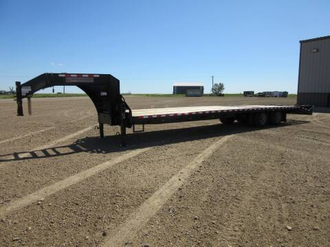 """2020 Midsota 102"""" x 36' for sale at Nore's Auto & Trailer Sales - Gooseneck Trailers in Kenmare ND"""