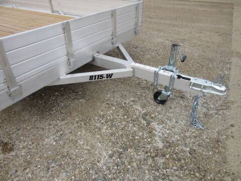 """2021 Aluma 81"""" x 15' for sale at Nore's Auto & Trailer Sales - Utility Trailers in Kenmare ND"""