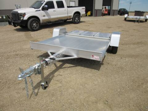 """2021 Aluma 72"""" x 10 for sale at Nore's Auto & Trailer Sales - Utility Trailers in Kenmare ND"""