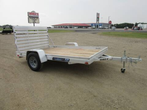 "2021 Aluma 78"" x 10' for sale at Nore's Auto & Trailer Sales - Utility Trailers in Kenmare ND"