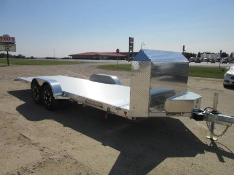 "2021 Aluma 82"" x 20' for sale at Nore's Auto & Trailer Sales - Tilt Deck Trailers in Kenmare ND"