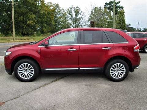 2013 Lincoln MKX for sale in Madisonville, TN
