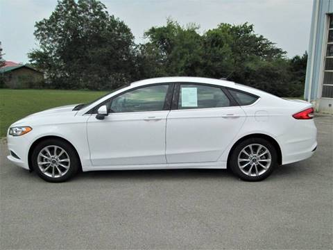 2017 Ford Fusion for sale in Madisonville, TN