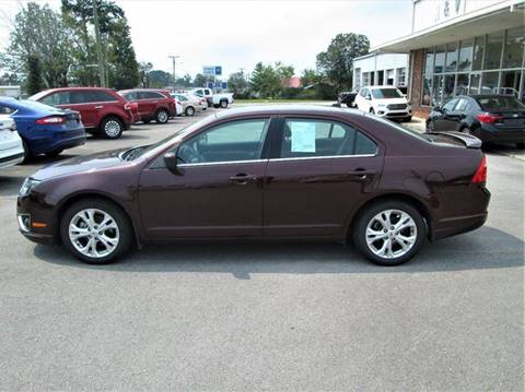 2012 Ford Fusion for sale in Madisonville, TN