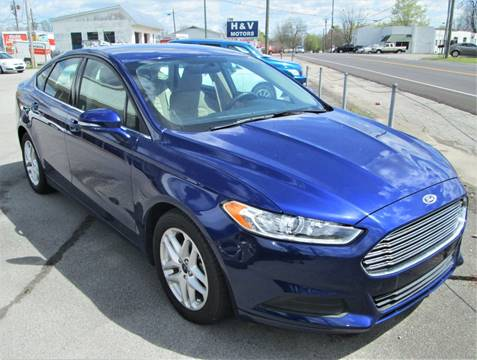 2016 Ford Fusion for sale in Madisonville, TN