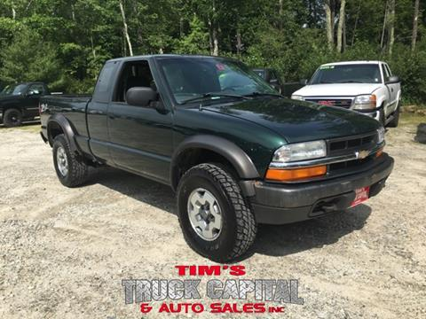 2002 Chevrolet S-10 for sale in Epsom, NH