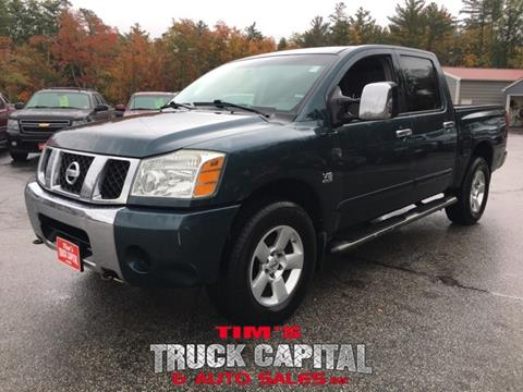 2004 Nissan Titan for sale in Epsom, NH