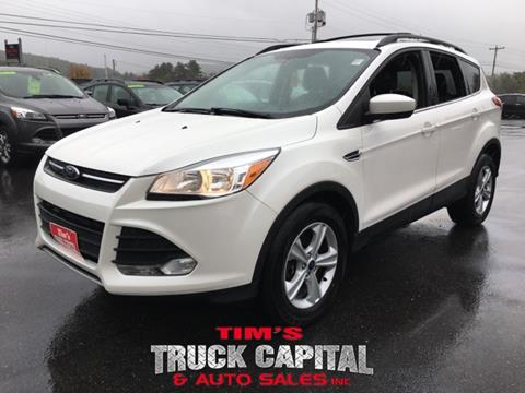 2013 Ford Escape for sale in Epsom, NH