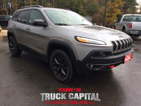 2016 Jeep Cherokee for sale in Epsom, NH