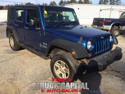 2009 Jeep Wrangler Unlimited for sale in Epsom, NH