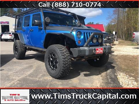 2010 Jeep Wrangler Unlimited for sale in Epsom, NH