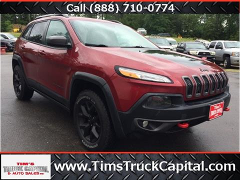 2014 Jeep Cherokee for sale in Epsom, NH