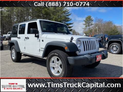2015 Jeep Wrangler Unlimited for sale at TIM'S TRUCK CAPITAL & AUTO SLS in Epsom NH