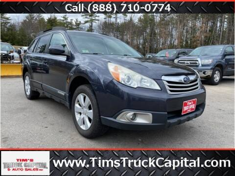 2010 Subaru Outback 2.5i Premium for sale at TIM'S TRUCK CAPITAL & AUTO SLS in Epsom NH