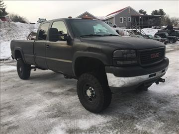 2001 GMC Sierra 2500HD for sale in Epsom, NH