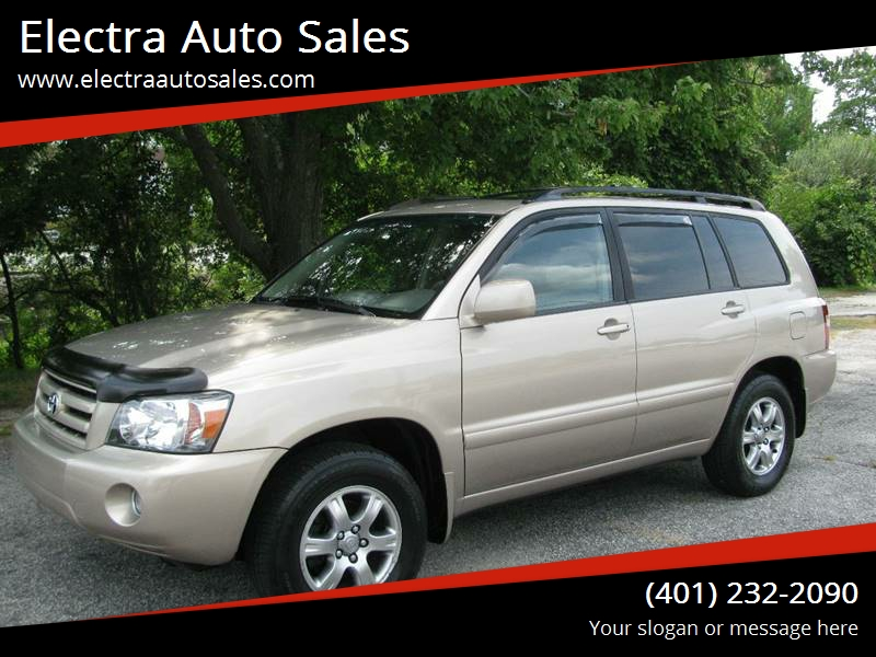 2004 Toyota Highlander AWD Limited 4dr SUV W/3rd Row   Johnston RI