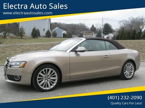 2011 Audi A5 for sale in Johnston, RI