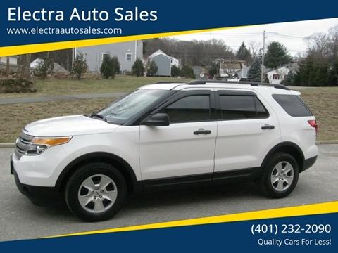 2013 Ford Explorer for sale in Johnston, RI