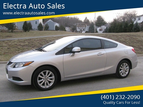2012 Honda Civic for sale in Johnston, RI