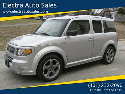 2007 Honda Element for sale in Johnston, RI