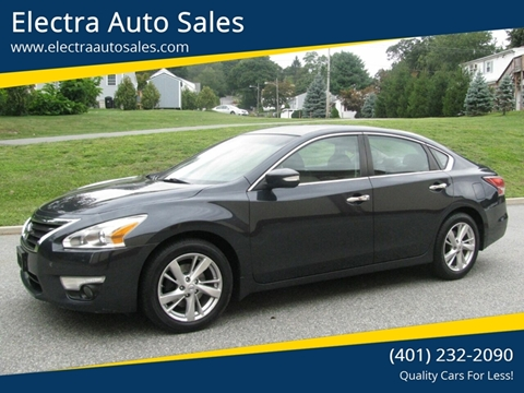 2014 Nissan Altima for sale in Johnston, RI