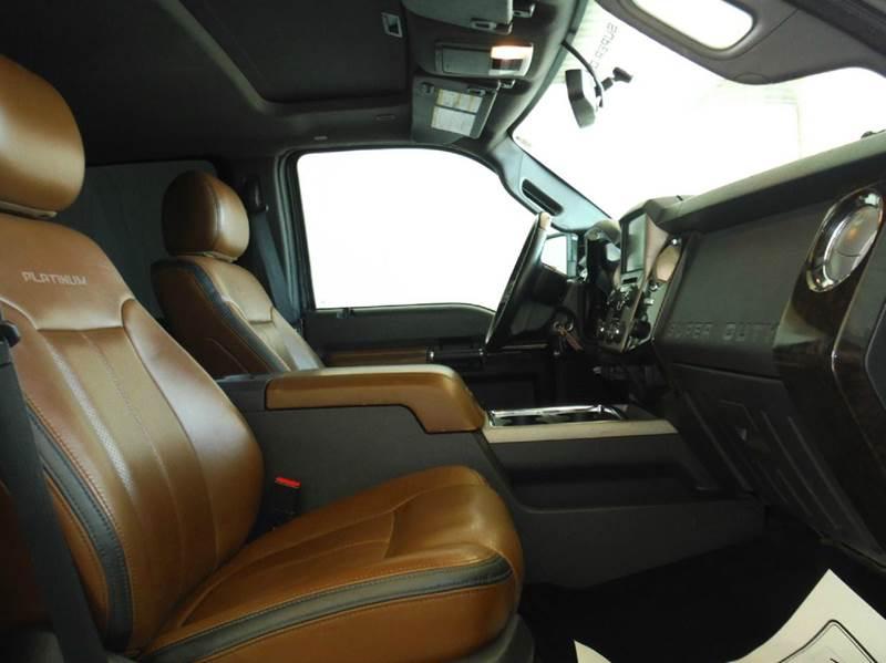 2015 Ford F-250 Super Duty 4x4 Platinum 4dr Crew Cab 6.8 ft. SB Pickup - Gainesville TX