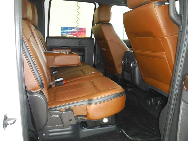 2015 Ford F-250 Super Duty Platinum 4x4 4dr Crew Cab 6.8 ft. SB Pickup - Gainesville TX