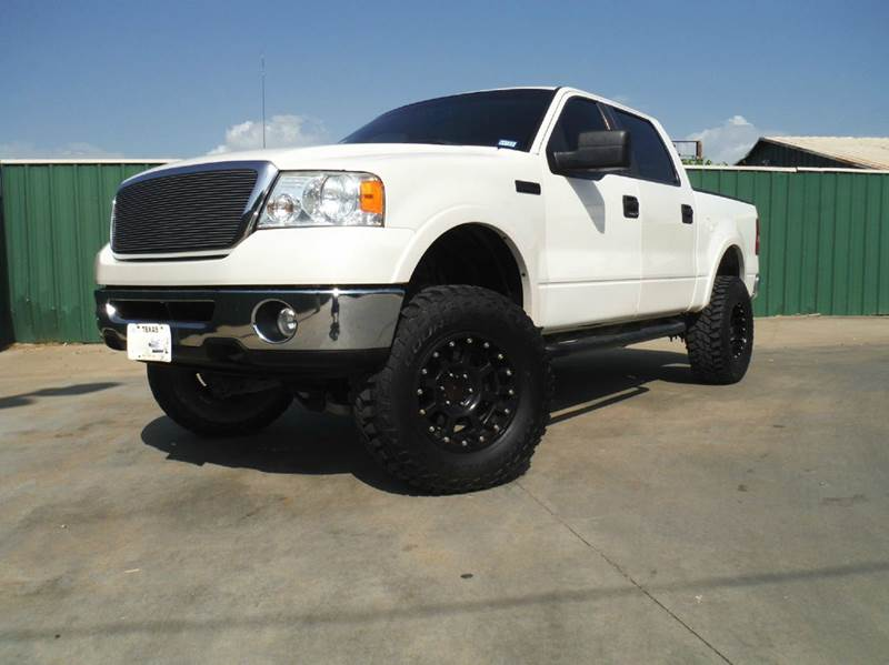 2008 Ford F-150 4x4 Lariat 4dr SuperCrew Styleside 5.5 ft. SB - Gainesville TX