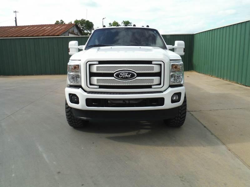 2015 Ford F-350 Super Duty 4x4 Platinum 4dr Crew Cab 8 ft. LB DRW Pickup - Gainesville TX
