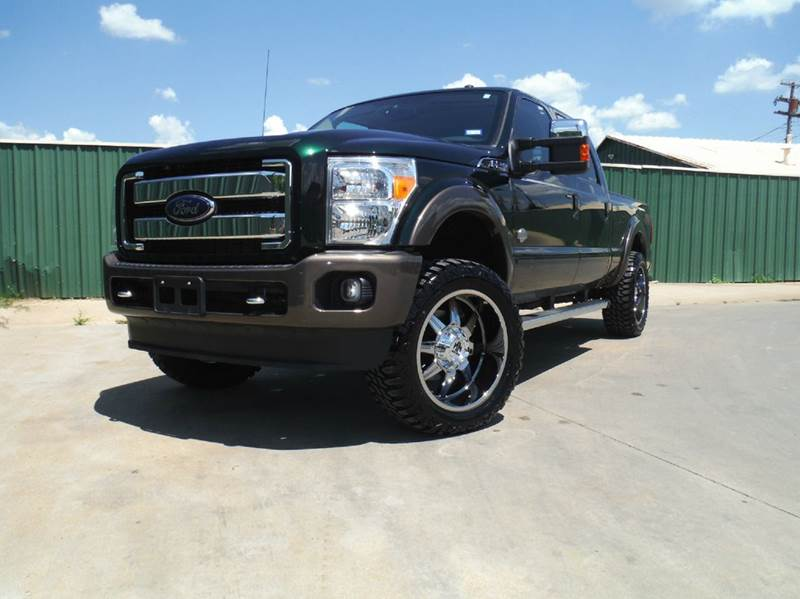 2016 Ford F-250 Super Duty 4x4 King Ranch 4dr Crew Cab 6.8 ft. SB Pickup - Gainesville TX
