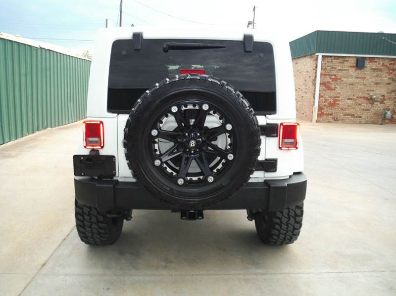 2012 Jeep Wrangler Unlimited 4x4 Sport 4dr SUV - Gainesville TX