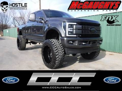 2017 Ford F-250 Super Duty for sale at Triple C Auto Sales in Gainesville TX