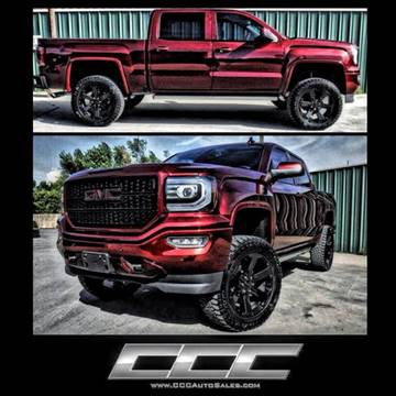2017 GMC Sierra 1500 for sale at Triple C Auto Sales in Gainesville TX