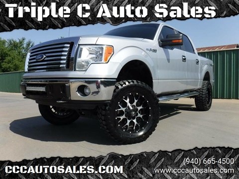 2011 Ford F-150 for sale at Triple C Auto Sales in Gainesville TX