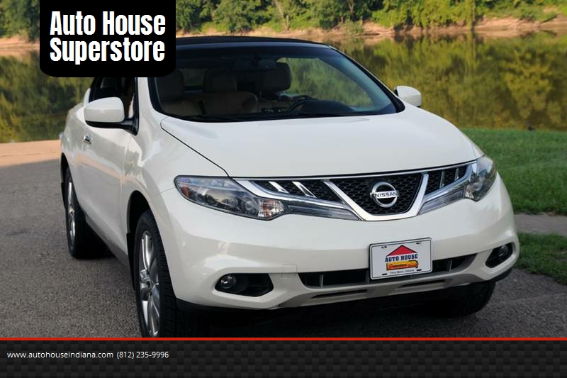 2011 Nissan Murano CrossCabriolet AWD 2dr SUV Convertible   Terre Haute IN