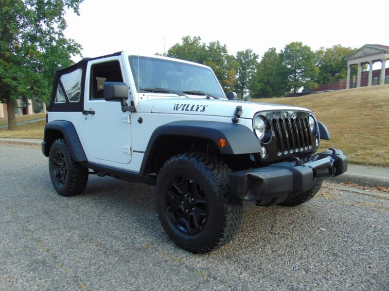 2017 Jeep Wrangler 4x4 Willys Wheeler 2dr SUV - Terre Haute IN