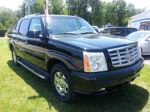 2003 Cadillac Escalade EXT for sale in Michigan City, IN