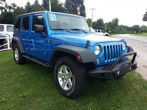 2015 Jeep Wrangler Unlimited for sale in Michigan City, IN