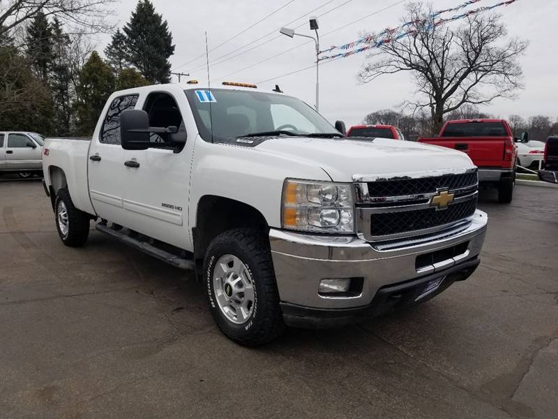 2011 Chevrolet Silverado 2500hd 4x4 Lt 4dr Crew Cab Sb In Michigan