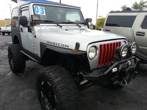 2003 Jeep Wrangler for sale in Michigan City, IN