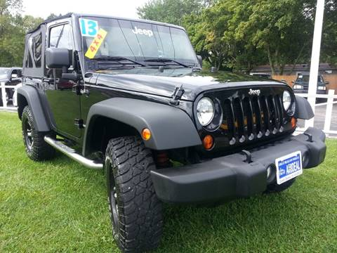 2013 Jeep Wrangler for sale in Michigan City, IN