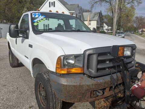 1999 Ford F-350 Super Duty for sale at GREAT DEALS ON WHEELS in Michigan City IN