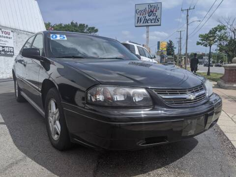 2005 Chevrolet Impala for sale at GREAT DEALS ON WHEELS in Michigan City IN