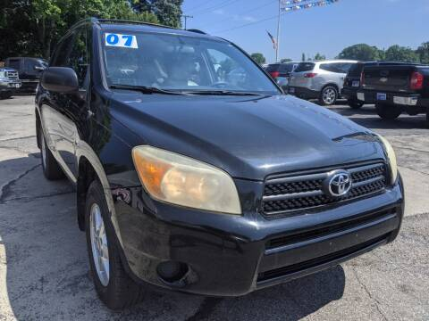 2007 Toyota RAV4 for sale at GREAT DEALS ON WHEELS in Michigan City IN