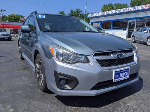2012 Subaru Impreza for sale at GREAT DEALS ON WHEELS in Michigan City IN