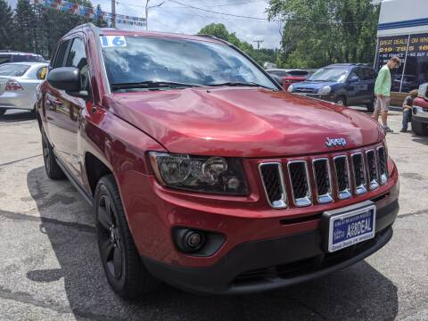 2016 Jeep Compass for sale at GREAT DEALS ON WHEELS in Michigan City IN