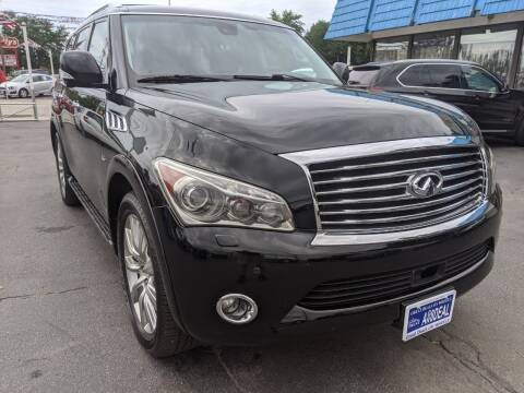 2011 Infiniti QX56 for sale at GREAT DEALS ON WHEELS in Michigan City IN