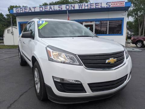 2017 Chevrolet Traverse for sale at GREAT DEALS ON WHEELS in Michigan City IN