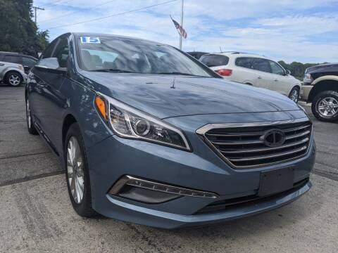 2015 Hyundai Sonata for sale at GREAT DEALS ON WHEELS in Michigan City IN